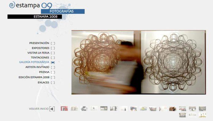 feria arte estampa madrid nuevas tecnologias en el arte